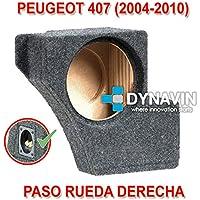 Dynavin Peugeot 407 (2004-2010). Rueda Derecha - Caja