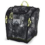 High Sierra Ski Boot Trapezoid Boot Bag, Atmosphere/Black/Zest