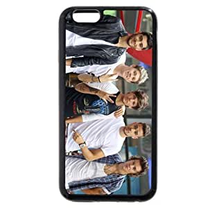 "UniqueBox Customized Black Soft Rubber(TPU) One Direction(1D) iPhone 6+ Plus 5.5 Case, Only fit iPhone 6+ (5.5"")"