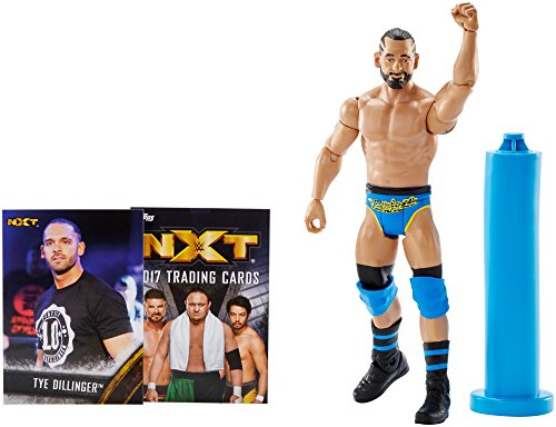 WWE NXT Takeover ''Perfect 10'' Tye Dillinger Action Figure w/Topps Collectors Card by WWE