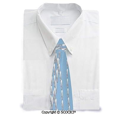 SCOCICI Collar de perlas y corbata para niños, diseño divertido ...