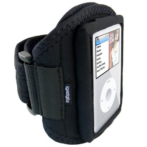 iGadgitz Water Resistant Neoprene Sports Gym Jogging Armband for Apple iPod Classic 80gb, 120gb & 160gb