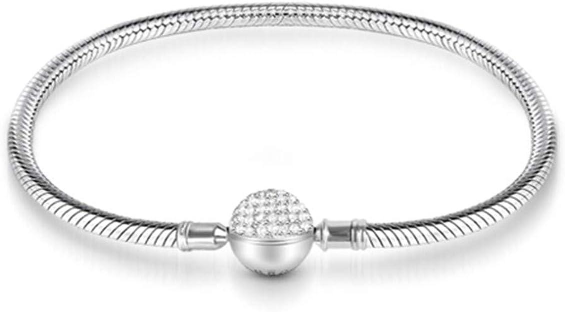 CustomCharms Louisiana State Expandable Wire Charm Bracelet Bangle w//Orange Color Crystals