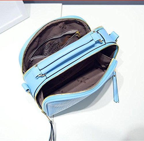 En Meaeo Solide Femmes À Cuir Bandoulière Fourre Blue À Dames Sacs Violet Femmes À Bandoulière Femme Sacs Mode Rabat Bandoulière Tout Sac zzrqOw