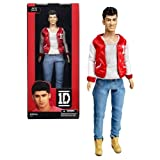 Hasbro Year 2012 One Direction 1D Collector Series 12 Inch Doll - ZAYN MALIK with 1D Red Sport Jacket, Grey Tops and Denim Pants