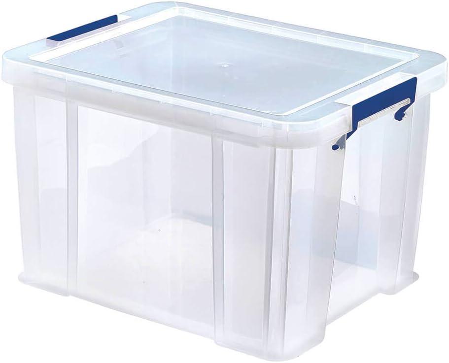 BANKERS BOX Prostore Plastic Storage Box - 36 Litre (Int. Dimensions 30 x 37 x 31cm)