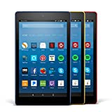 Fire HD 8 Variety Pack, 32GB - Includes Special Offers (Marine Blue/Punch Red/Canary Yellow)
