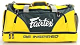 FAIRTEX MMA GYM BAG - BAG2 - YELLOW - NYLON