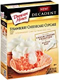 Duncan Hines Decadent Cupcake Mix, Strawberry Cheesecake, 19.4 Ounce