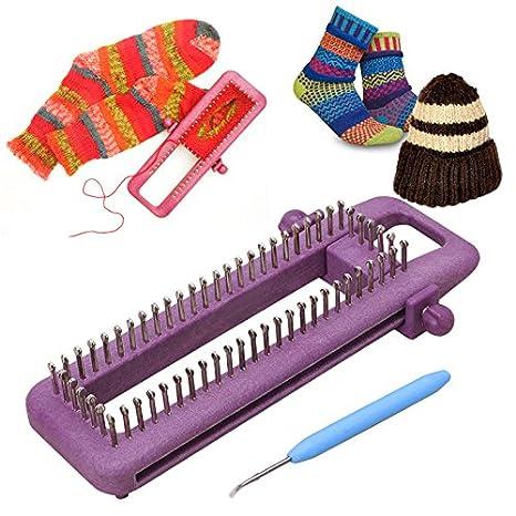 Amazon Com Loom Round Adjustable Sock Loom Kit Knitting Socks