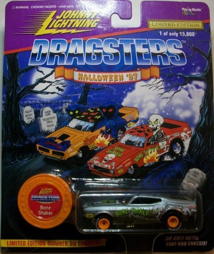Johnnny Lightning Halloween 1997 Bone Shaker Die Cast Car