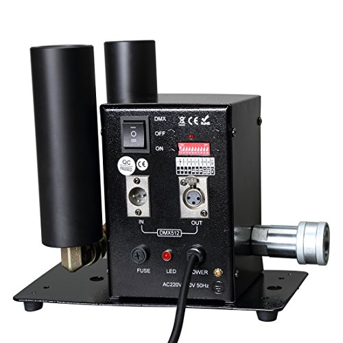 - MOKA SFX Stage Special Effect Double Barrel Co2 Jet Machine DMX Control for Party Stage DJ event Show