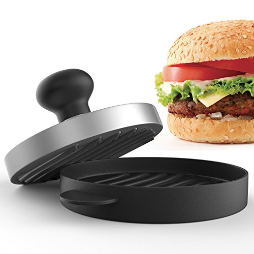 Planet Homeware Burger Press - Premium Hamburger Patty Maker - For Stuffed, Sliders and Regular Burgers - For Bacon, Sausage and Hamburgers - Durable, Makes Perfect Patties Every Time (Sausage Patty Maker compare prices)