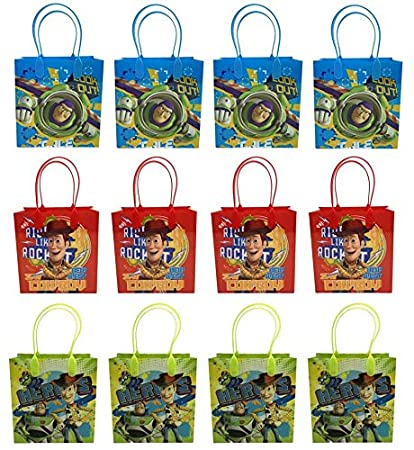 Amazon.com: 24pc Disney Toy Story Goodie bolsas Party Favor ...