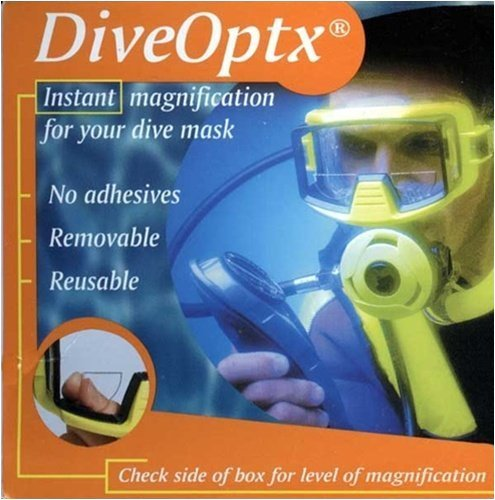 Trident Optx Flexible Dive Mask Magnifiers (pair) 2.5