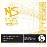 D\'Addario NS Electric Cello Single C String, 4/4 Scale, Medium Tension