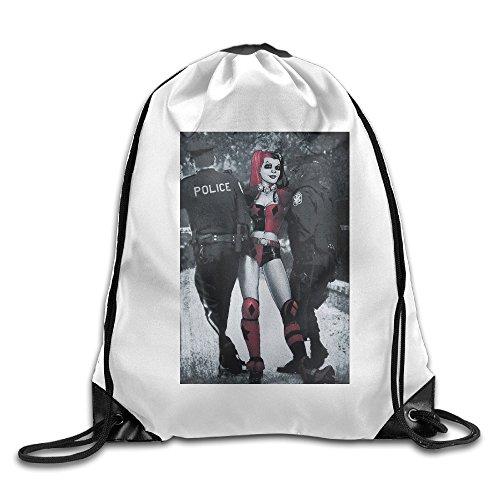 [Carina DC Comics Harley Under Arrest 1 New Design Backpack One Size] (Joker 2016 Costume)