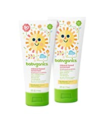 Babyganics Mineral-Based Baby Sunscreen Lotion, SPF 50, 6oz T...