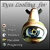 Eyeball Pendant ''Looking for Peace, Love, Balance, Harmony, Prosperity, Stardom, Aliens''