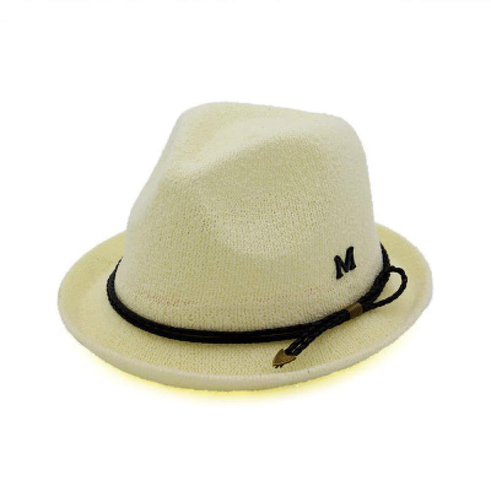 KFEK Sombrero de Jazz de Estilo británico con puño Sombrero de Sol ...