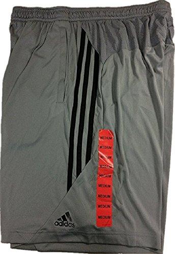 Adidas Men's CLIMACOOL Performance Shorts Grey/Black, (Adidas Climacool Mens Short)