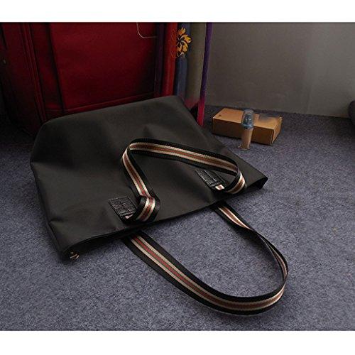 en à Main Sac fourre Tissu Sac Tout Sac Oxford Toile Sac capacité Nouveau Main fashion à de à Bandoulière Simple Nylon Grande Banlieue étanche bag LF qgawzO1qT