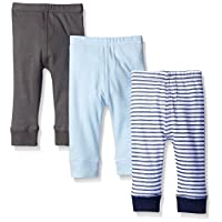 Luvable Friends 3 Pack Tapered Ankle Pants