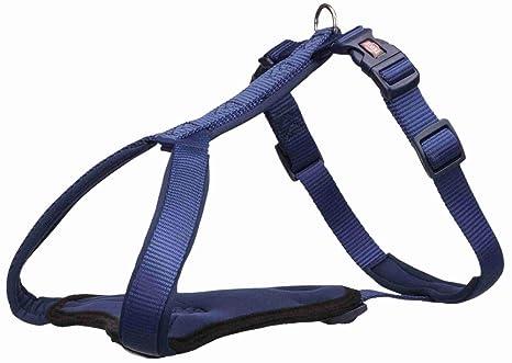Trixie 1998013 Arnés-Y Premium, XXS-XS, 27-32cm/10mm, Añil, XS ...