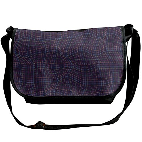 Womens Bags Grid Fashion Black Lines Shoulder Pattern Casual Handbags Crossbody Curve Bags Wave Multicolor Abstract fSvxwYw