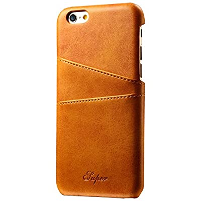 FlyHawk Wallet Phone Case, Slim PU Leather Back Case Cover With Credit Card Holder For Iphone8/6/6S/6Plus/6S Plus/7/7Plus