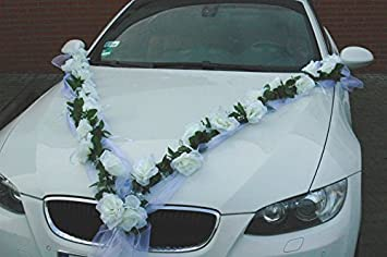 Autoschmuck Rose Garland Car Decoration Wedding Bridal Car