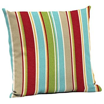 Mainstays Outdoor Patio Deep Seat Pillow Back Set Of Two (Multi Stripe)