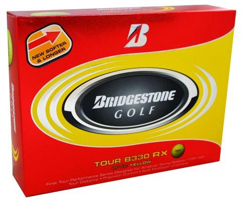 Bridgestone Tour B330-RX Optic Yellow Golf Ball (2011 Model), Outdoor Stuffs