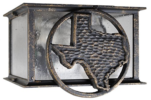 Lone Star Outdoor Wall Light in US - 4