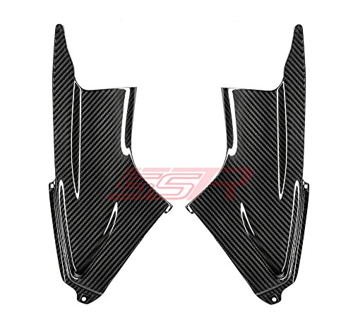 Yamaha YZF R6 (2003-2005) / R6S (2006-2009) 100% Twill Carbon Fiber Front Dash Inner Intake Air Duct Ram Tube Panel Cover Fairings