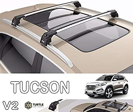 Juego de Tijeras Aluminio Travel Kit Hyundai Tucson Baca