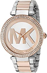 Michael Kors Women's 'Parker' Quartz Stainless Steel Casual Watch (Model: MK6314)