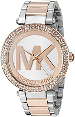 Michael Kors Women's Parker Two-Tone Watch MK6314
