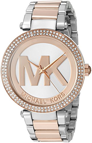 Michael Kors Women's Parker Two-Tone Watch MK6314 by Michael Kors
