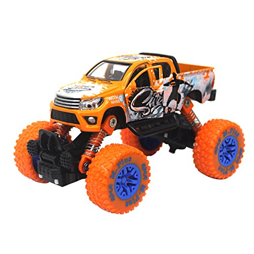 Jellydog-Toy-Pull-Back-Monster-Trucks-Metal-Friction-Powered-Monster-Jam-Cars-Big-Wheel-Buggy-132-Scale-Die-Cast-Vehicle-Shock-Springs-Toys-car-for-boys-toddler