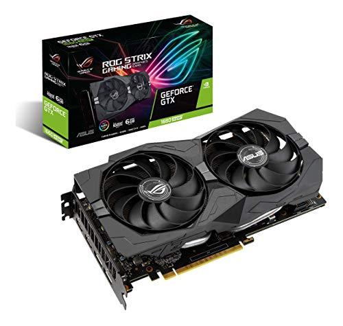 ASUS ROG Strix GeForce GTX 1660 Super Advanced 6GB Edition GDDR6 HDMI 2.0 DP 1.4 Gaming Graphics Card (ROG-STRIX…