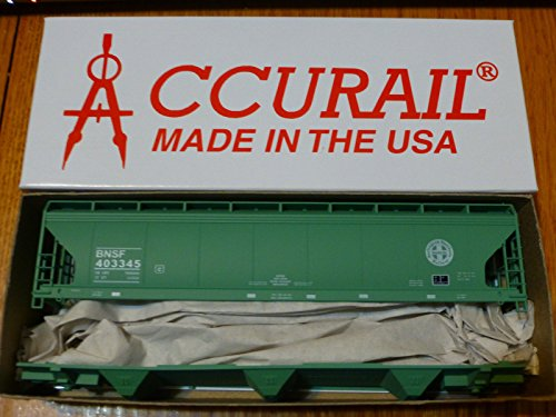 47' ACF 3-Bay Center Flow Covered Hopper - Kit (Plastic) -- Burlington Northern Santa Fe ()