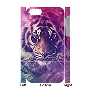 Tiger Custom 3D Cover Case for Iphone 4,4S,diy phone case ygtg540039