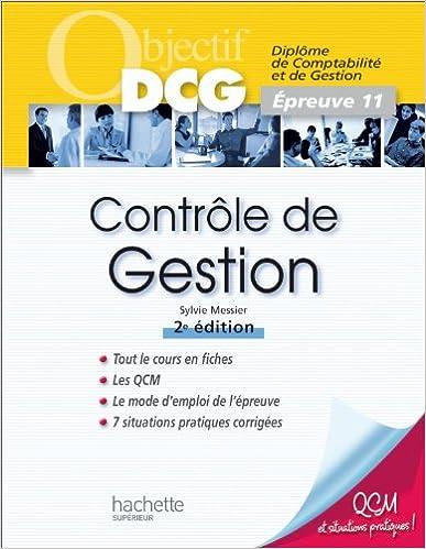 En ligne téléchargement Contrôle de gestion: Épreuve 11 epub, pdf