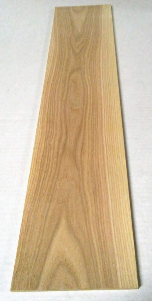 Pack of 3 Black Ash 1//8 Thick You Choose Width 24 Long Thin Solid Wood Lumber Made by Wood-Hawk Up to 6 Wide 1//8 x 6 x 24