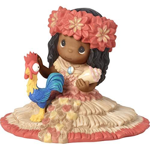 - Precious Moments Disney Showcase Moana 191064 Figurine, One Size, Multi