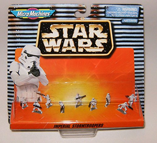 Star Wars Micro Machines Imperial Stormtroopers Collection