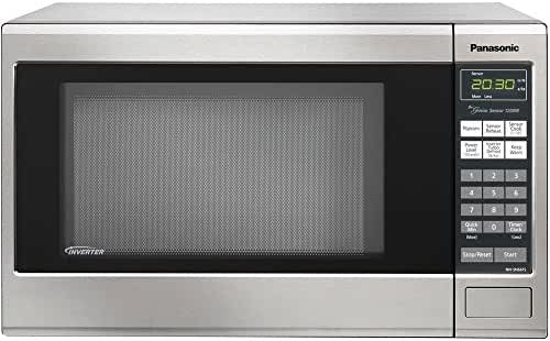Panasonic Refurbished Countertop Microwave Oven, with Inverter Technology, 1250W 1.2 Cu. Ft. Stainless Steel (Certified Refurbished)