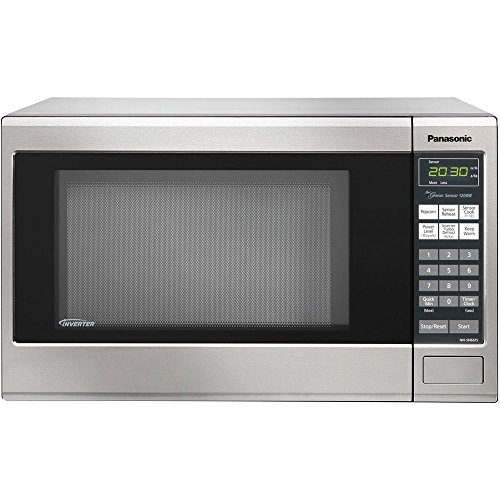 Panasonic Refurbished Countertop Microwave Oven, with Inverter Technology, 1250W 1.2 Cu. Ft. Stainless Steel (Certified Refurbished) (Panasonic Small Microwave Oven compare prices)