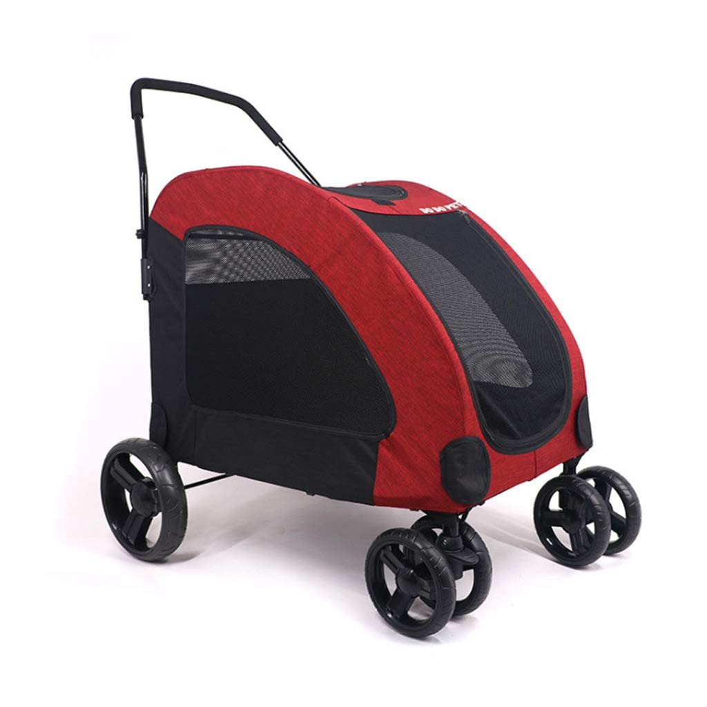 Large Dog pet Stroller Giant Dog Injured Dog Suitable for Multiple Pets